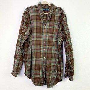 Ralph Lauren Mens  Long Sleeves Button Up Shirt XL